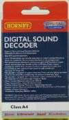 Hornby R8107 A4 TTS Digital Sound Decoder